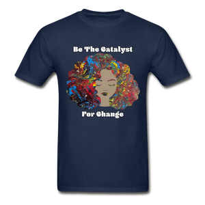 Catalyst - Unisex Tee - navy