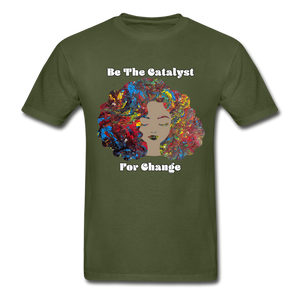 Catalyst - Unisex Tee - military green