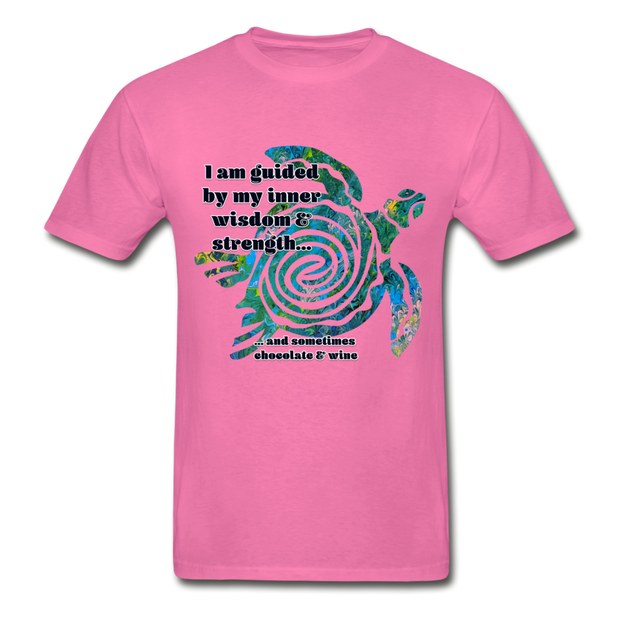 Wisdom & Strength - Unisex Tee - hot pink
