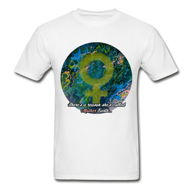 Mother Earth - Unisex Tee - white