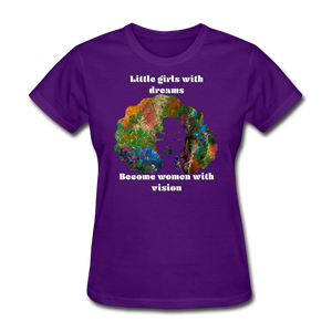 Dreamer to Visionary - Women's Favorite Tee - purple