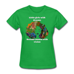 Dreamer to Visionary - Women's Favorite Tee - bright green