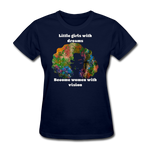 Dreamer to Visionary - Women's Favorite Tee - navy