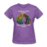 Dreamer to Visionary - Women's Favorite Tee - purple heather