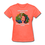 Dreamer to Visionary - Women's Favorite Tee - heather coral