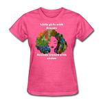 Dreamer to Visionary - Women's Favorite Tee - heather pink