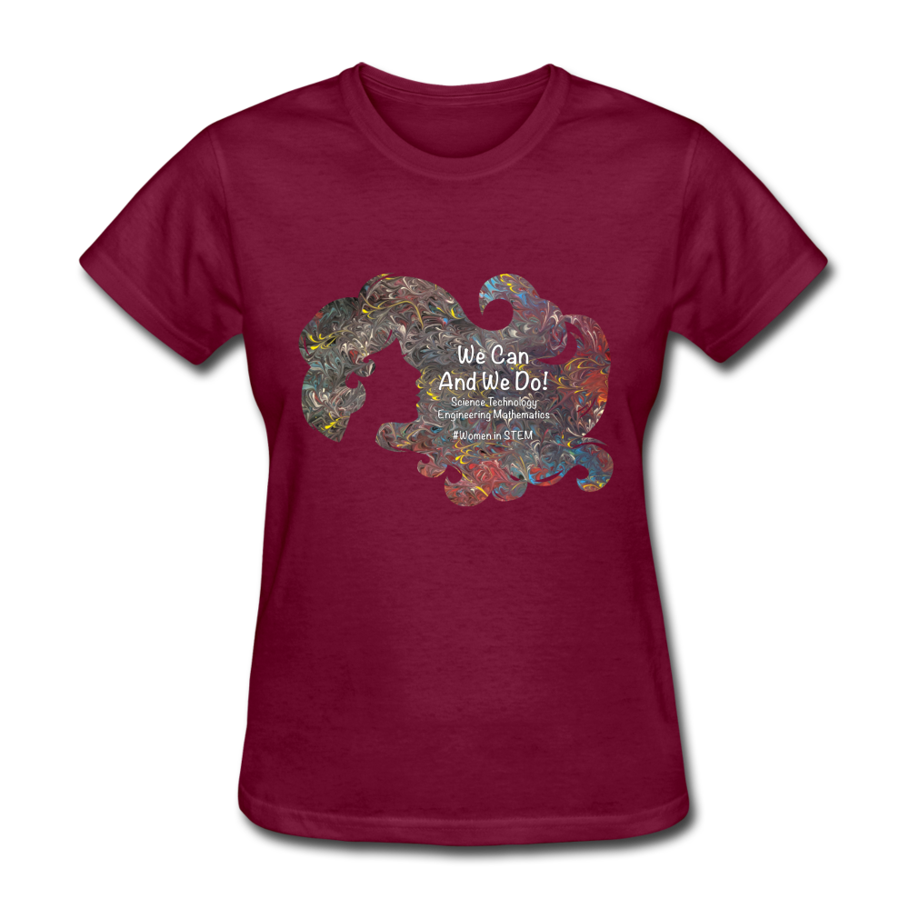 STEM - Women's Favorite Tee - burgundy
