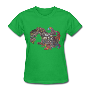 STEM - Women's Favorite Tee - bright green