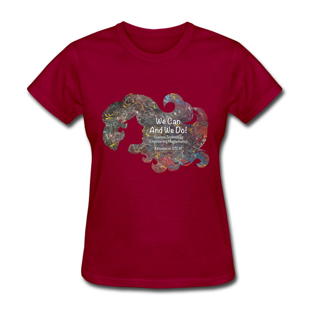 STEM - Women's Favorite Tee - dark red