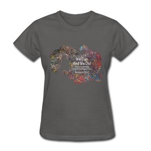 STEM - Women's Favorite Tee - charcoal