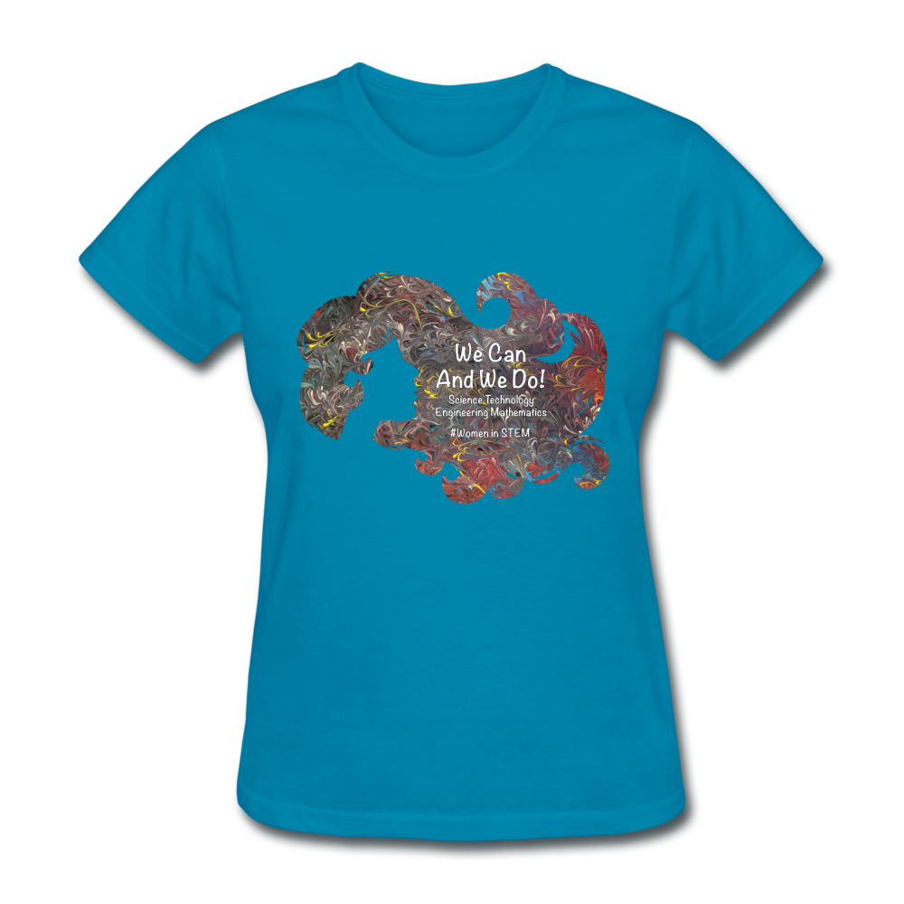 STEM - Women's Favorite Tee - turquoise