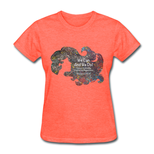 STEM - Women's Favorite Tee - heather coral