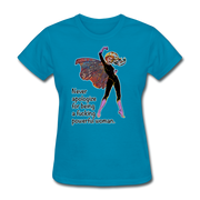 Powerful - Women's Favorite Tee - turquoise