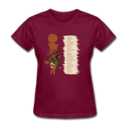 I Am - Women's Favorite Tee - burgundy