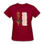 I Am - Women's Favorite Tee - dark red