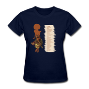 I Am - Women's Favorite Tee - navy