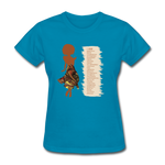 I Am - Women's Favorite Tee - turquoise