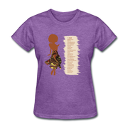 I Am - Women's Favorite Tee - purple heather
