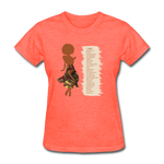 I Am - Women's Favorite Tee - heather coral