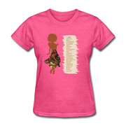 I Am - Women's Favorite Tee - heather pink