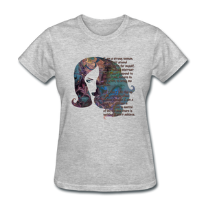 Stronger - Women's Favorite Tee - heather gray