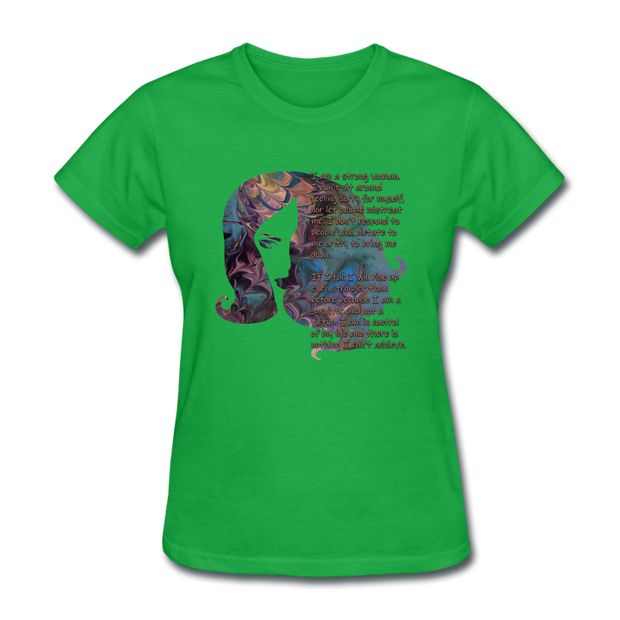 Stronger - Women's Favorite Tee - bright green