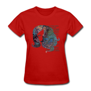 Stronger - Women's Favorite Tee - red