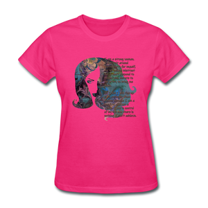 Stronger - Women's Favorite Tee - fuchsia