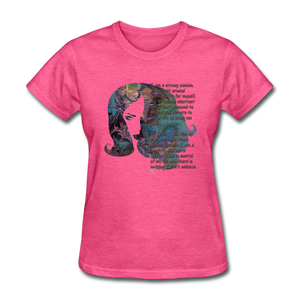 Stronger - Women's Favorite Tee - heather pink