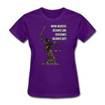 Duty - Women's Favorite Tee - purple
