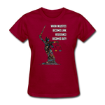 Duty - Women's Favorite Tee - dark red
