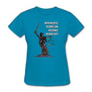 Duty - Women's Favorite Tee - turquoise