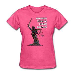 Duty - Women's Favorite Tee - heather pink
