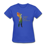 C.U.R.V.Y. - Women's Favorite Tee - royal blue