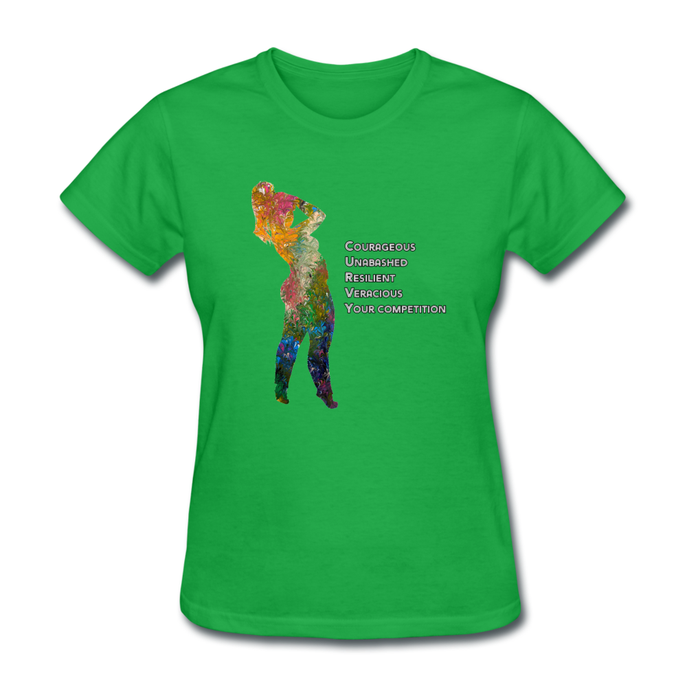 C.U.R.V.Y. - Women's Favorite Tee - bright green
