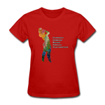 C.U.R.V.Y. - Women's Favorite Tee - red