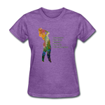 C.U.R.V.Y. - Women's Favorite Tee - purple heather