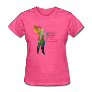 C.U.R.V.Y. - Women's Favorite Tee - heather pink