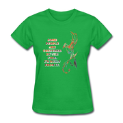Built From Fire - Women's Favorite Tee - bright green