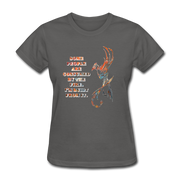 Built From Fire - Women's Favorite Tee - charcoal