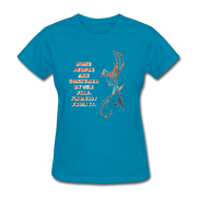Built From Fire - Women's Favorite Tee - turquoise