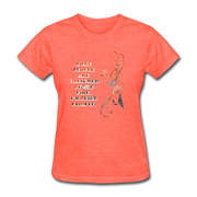 Built From Fire - Women's Favorite Tee - heather coral