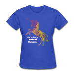 Tribe - Women's Favorite Tee - royal blue