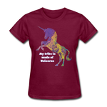 Tribe - Women's Favorite Tee - burgundy