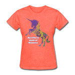 Tribe - Women's Favorite Tee - heather coral