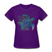 Wisdom & Strength - Women's Favorite Tee - purple