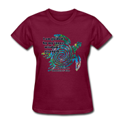 Wisdom & Strength - Women's Favorite Tee - burgundy