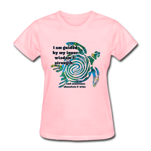 Wisdom & Strength - Women's Favorite Tee - pink
