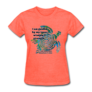 Wisdom & Strength - Women's Favorite Tee - heather coral