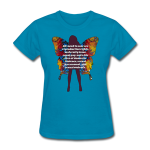 All I Need - Women's Favorite Tee - turquoise